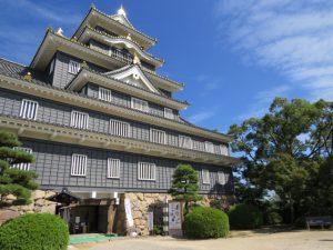 岡山城画像